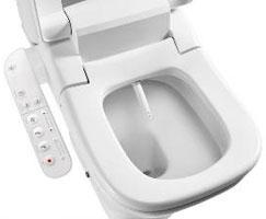 Uppfällt lock japansk toalettsits 2